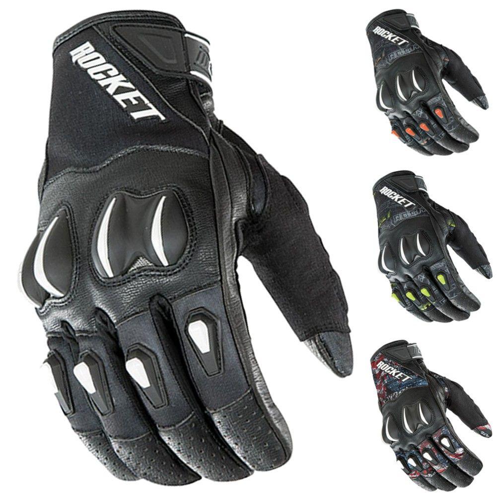 Joe rocket leather motorcycle gloves - 2015 Joe Rocket Street Riding Gear Chopper Cyntek Motorcycle Gloves