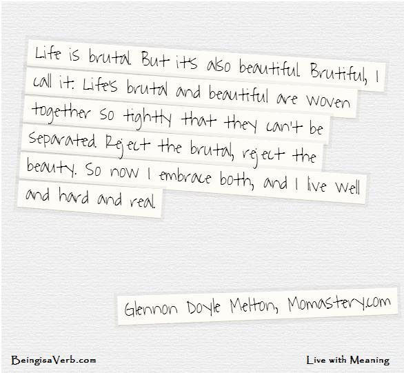 Glennon Doyle Melton Quotes Life Is Brutiful  Glennon Doyle Melton Quote  Quotes  Pinterest .