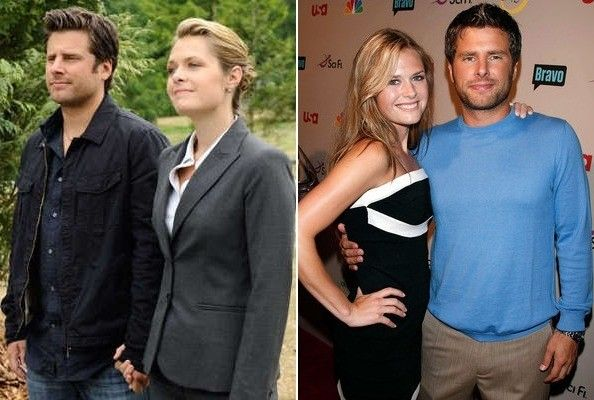 Maggie lawson dating james roday