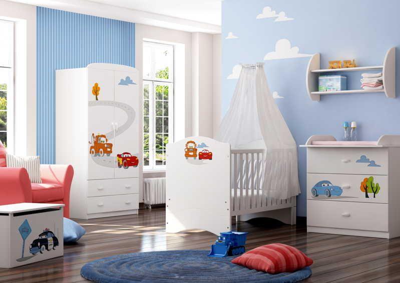 Детские комнаты для  новорождённых