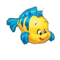Render Disney Renders Polochon Petite Sirène Funny