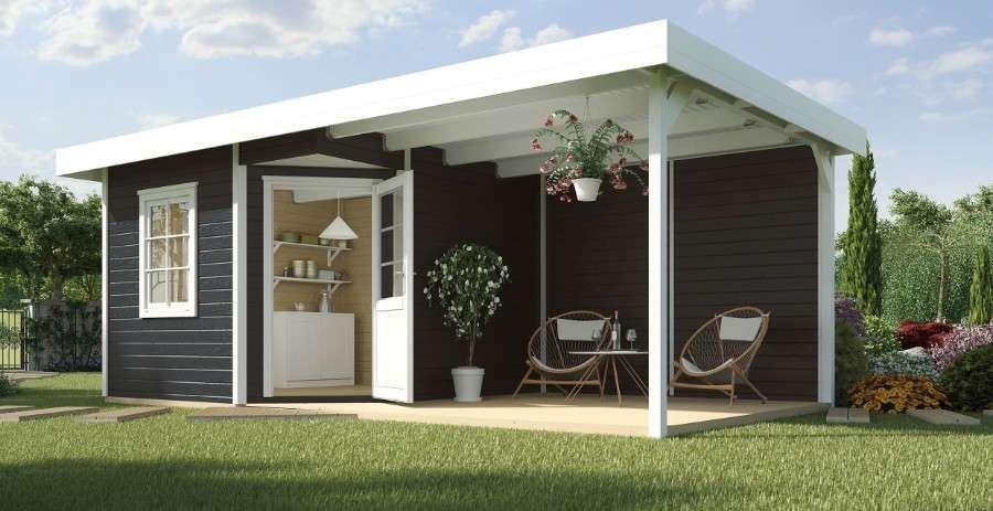 WEKA Designhaus 213 B Gr.1, 5Eck, 28 mm Garten
