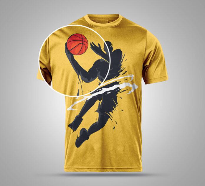 Download Free Sports T Shirt Mockup Psd Template 2 In 2020 Shirt Mockup Sport T Shirt Tshirt Mockup