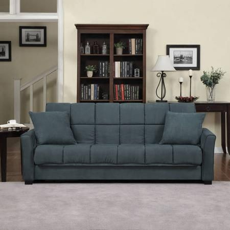 Baja Convert-a-Couch Sofa Sleeper Bed, Multiple Colors - Walmart.com - Sofa Sleeper Walmart Cymun Designs