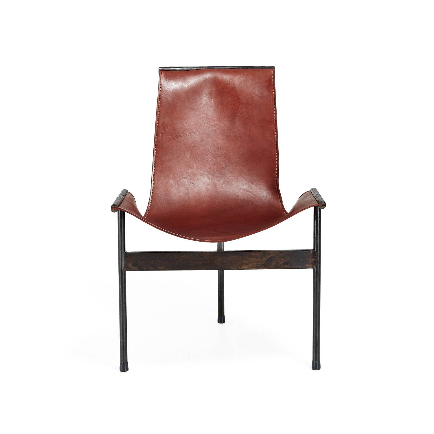 Giron Leather Scoop Chair   ABC Furniture