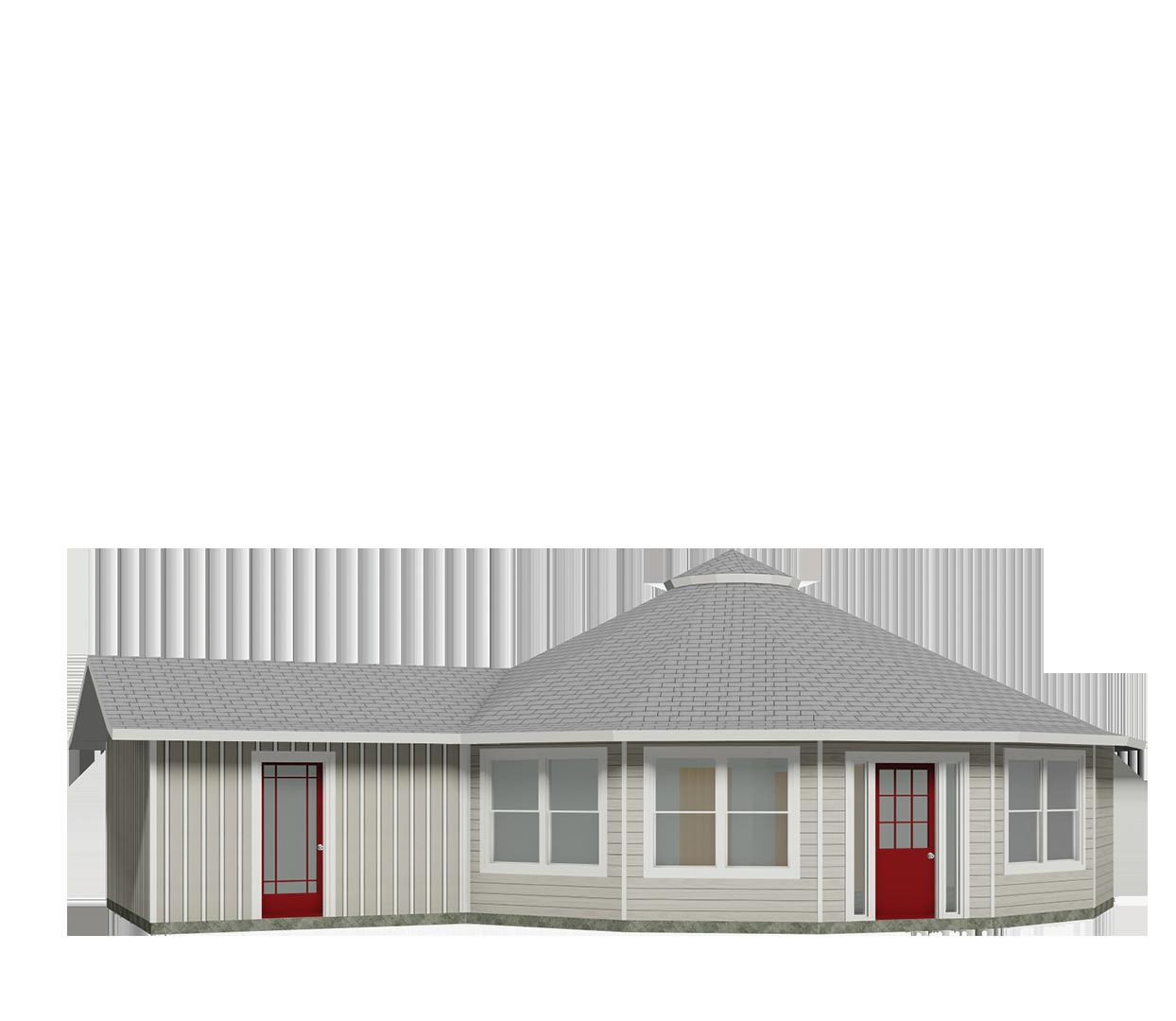 Energy Efficient Home Deltec Homes Use Stone Siding Like Hagrid S Hut Custom Floor Plans Plans Modern Building Design