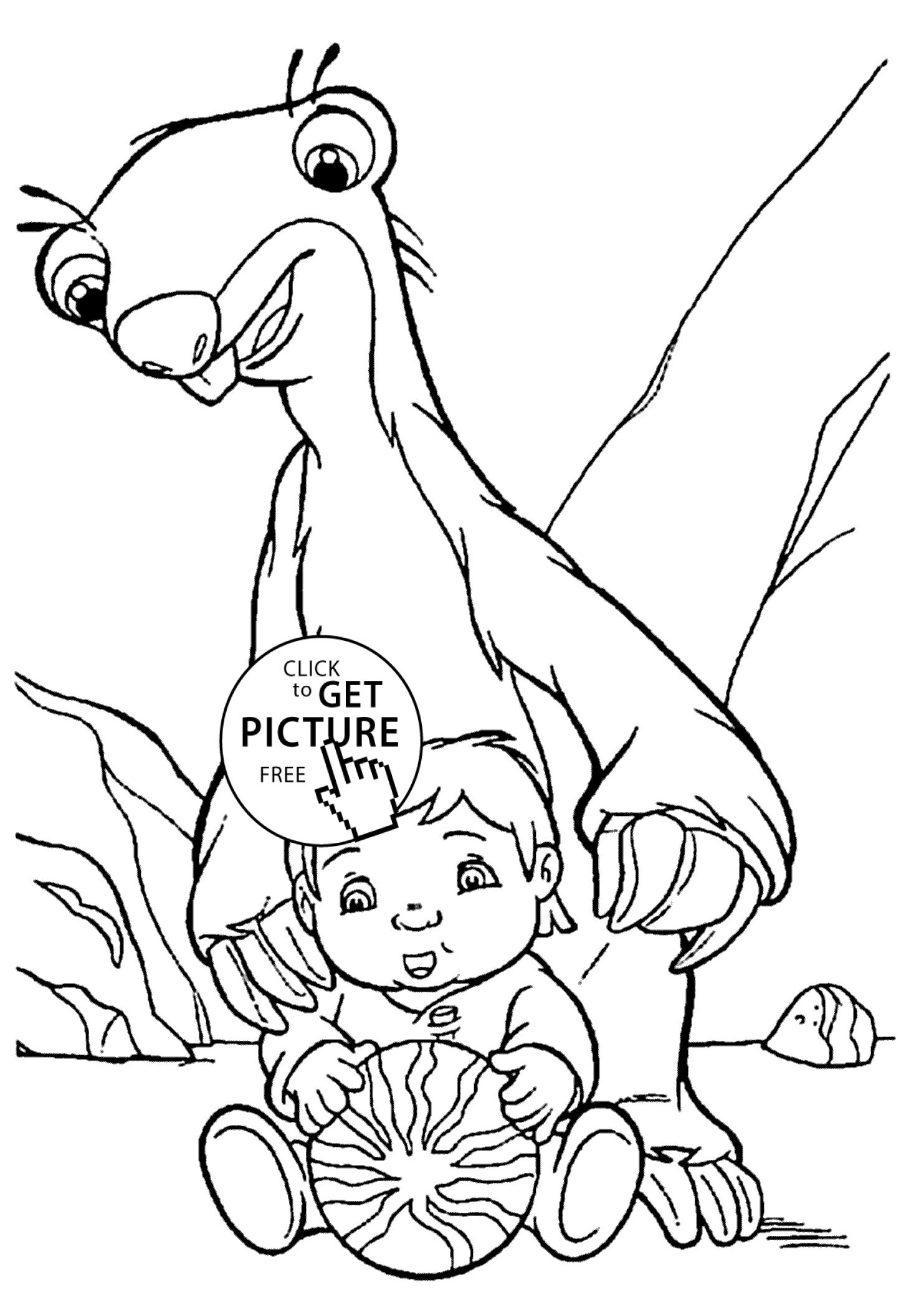 Ice Age Coloring Pages Download Baby Coloring Pages Cartoon Coloring Pages Animal Coloring Pages