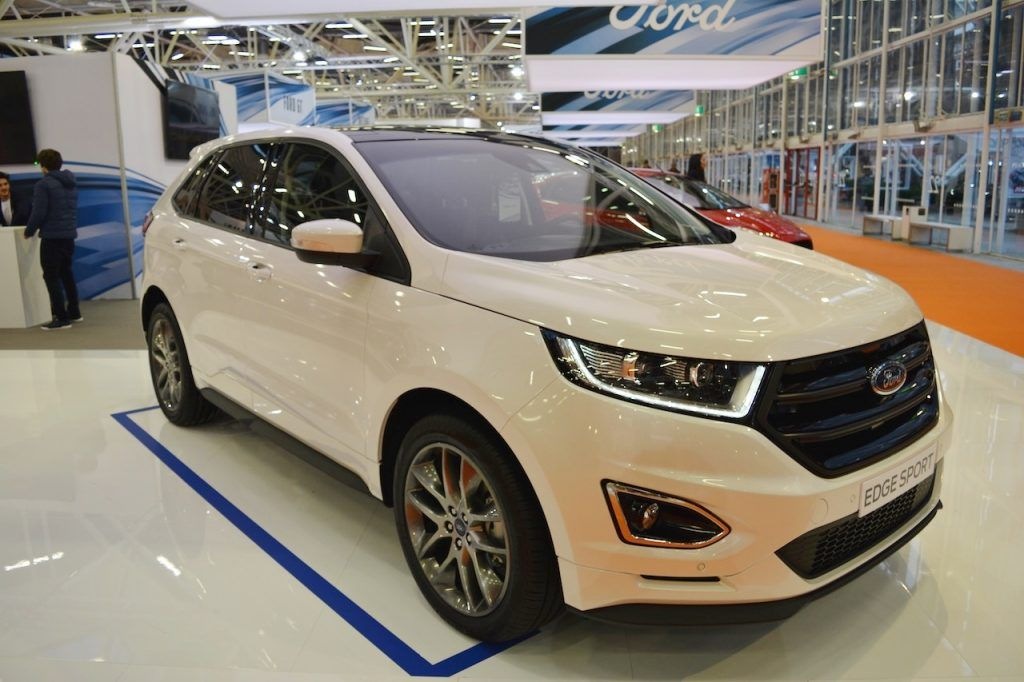 Ford Edge Sport Bologna Motor Show Live Ford Edge Ford Sports
