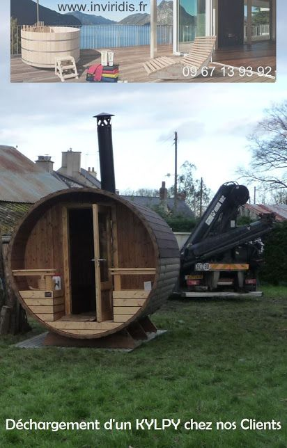 Installation Du0027un Kylpy Sauna Chez Notre Revendeur Région 44. Un Vrai Sauna  à Bois, à Poser Dans Son Jardin, Sur Un Terrain Stable Et Plat, Poêle à Bois,  ...