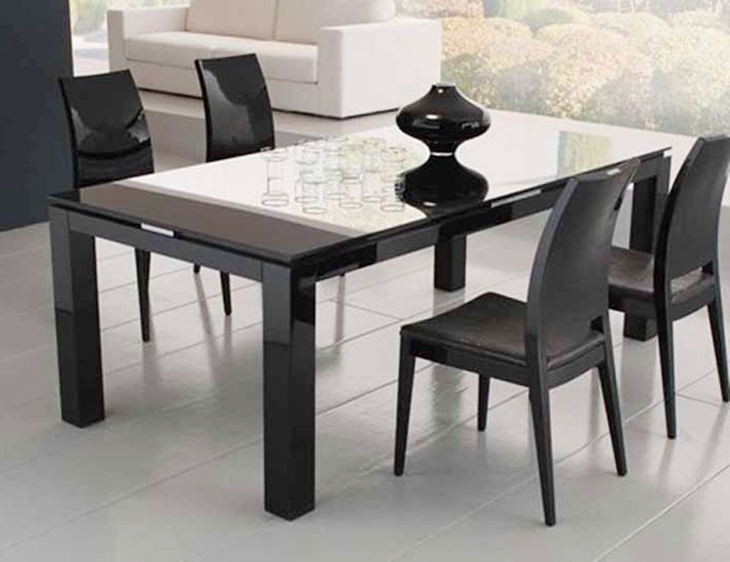 Glass Rectangle Dining Table Contemporary Luxury Small Rectangular About Qfwlvjs In 2020 Glass Dining Room Table Black Glass Dining Table Dining Room Table