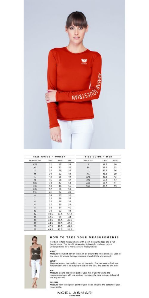 Shirts and Tops 183366: Asmar Logo Long Sleeve Fitness Tee - Red - Different Sizes -> BUY IT NOW ONLY: $68.0 on eBay!