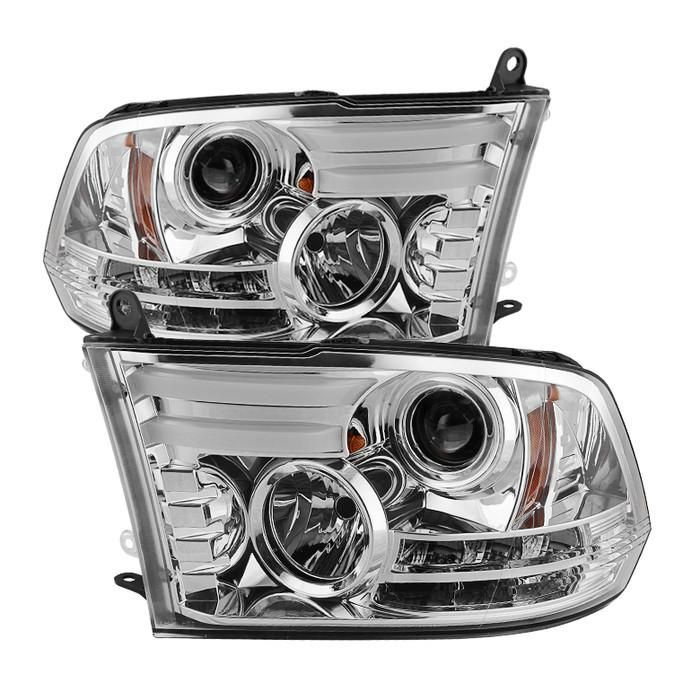 Dodge Ram 1500 2500 3500 13 16 Projector Headlights Not Compatible On Models W Factory Dual Lamp Quad Lamp He Projector Headlights Dodge Ram 1500 Spyder Auto