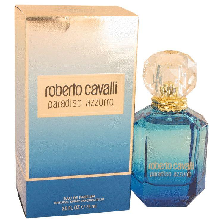 Roberto Cavalli Paradiso Azzurro By Roberto Cavalli Eau De Parfum Spray 2 5 Oz