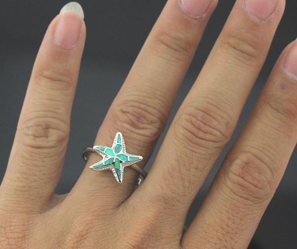 Premium Starfish Ring