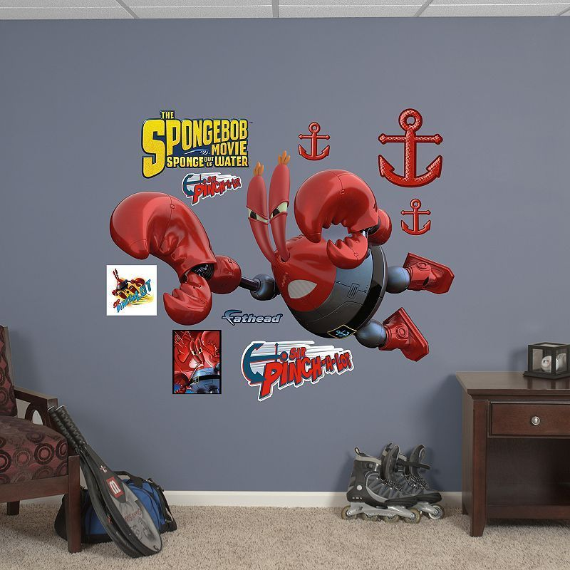 SpongeBob SquarePants Out Of Water Wall Decals By Fathead - Spongebob decals wall