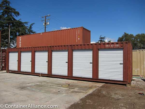 Roll Up Doors 3 Of 13 Jpg 600 450 Container House Tiny House Community Shipping Container