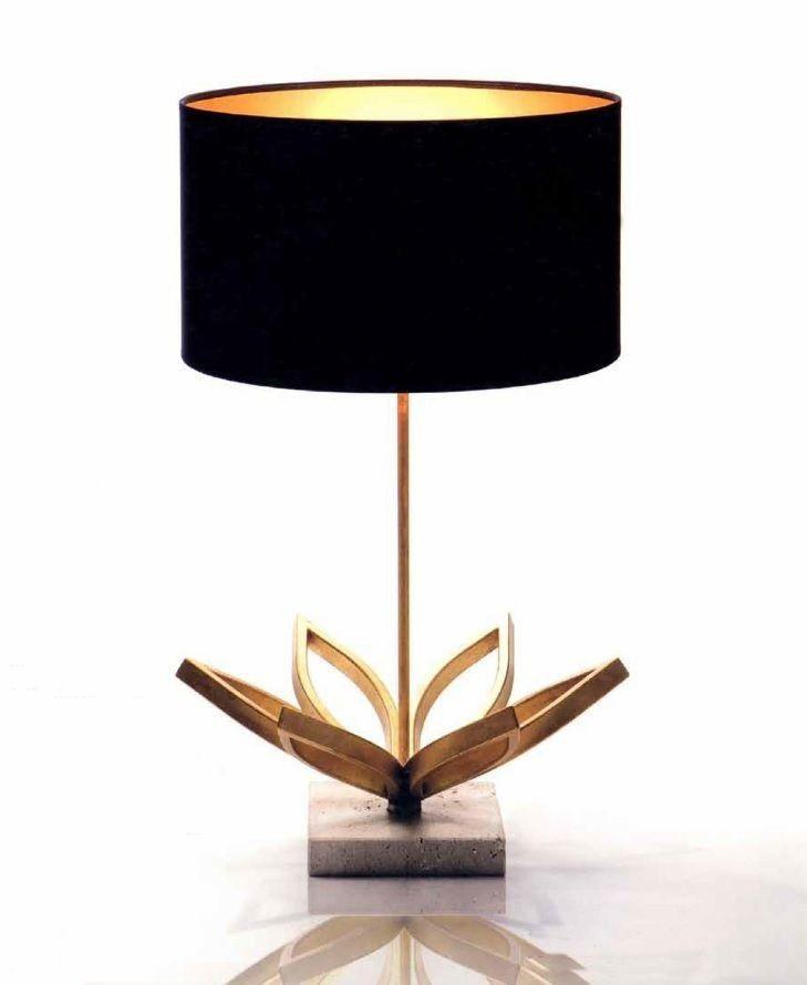 Lámpara sobremesa moderna Laila. Ámbar Muebles | Lámpara