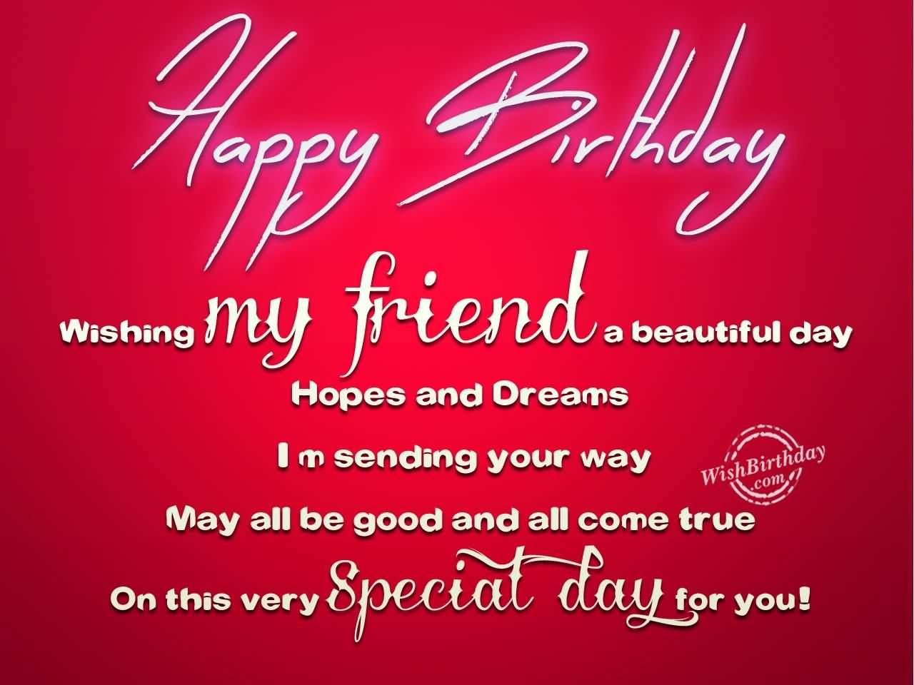 Happy Birthday Gorgeous Friend ~ Happy birthday my beautiful friend quotes family friends pinterest and