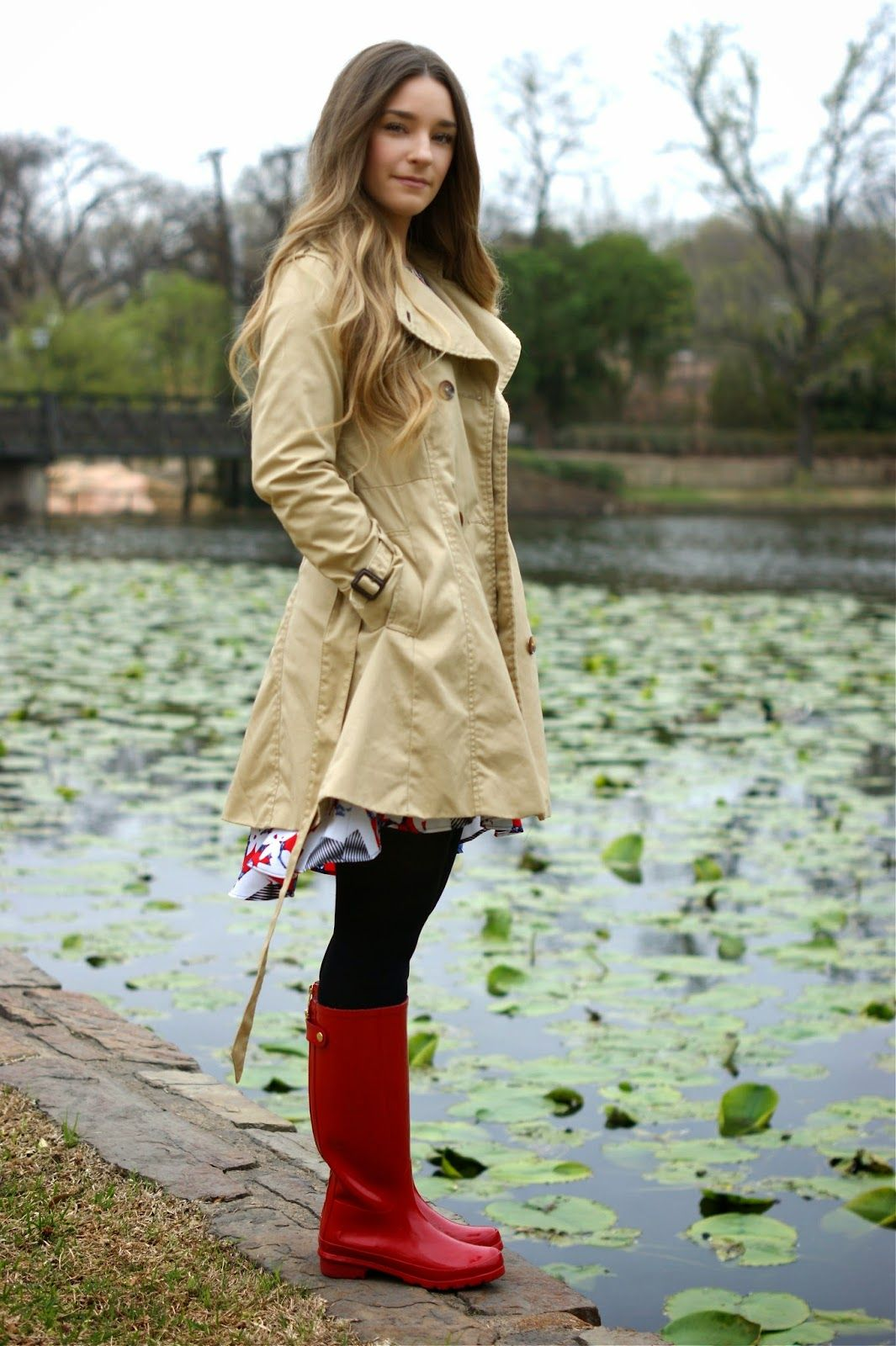 6abb9c6d77cf Hello again! Today I have for you a cute little rainy day outfit I ...