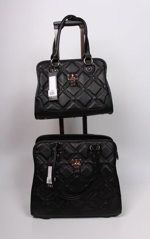 Laptop Designer Bags ON Wheels P D Anna Collection Black #fashion ...