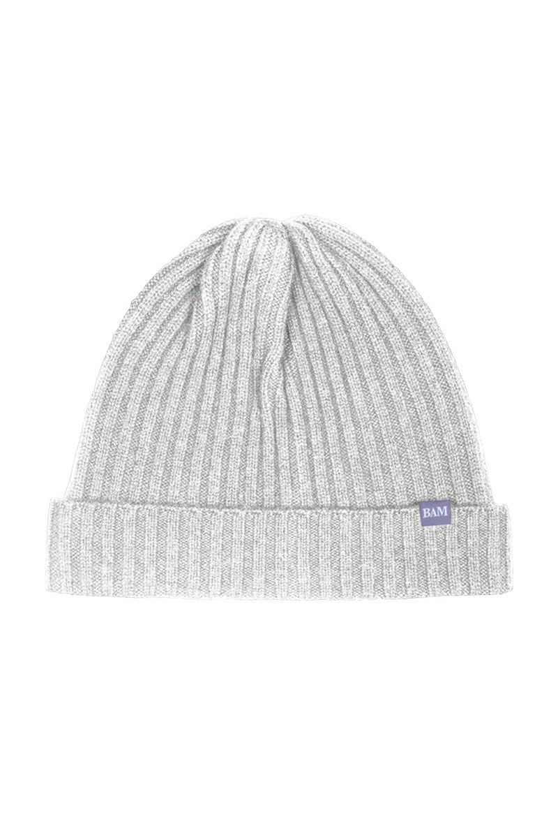 bc2ea0994a9 Knitted Merino Bamboo Beanie Hat