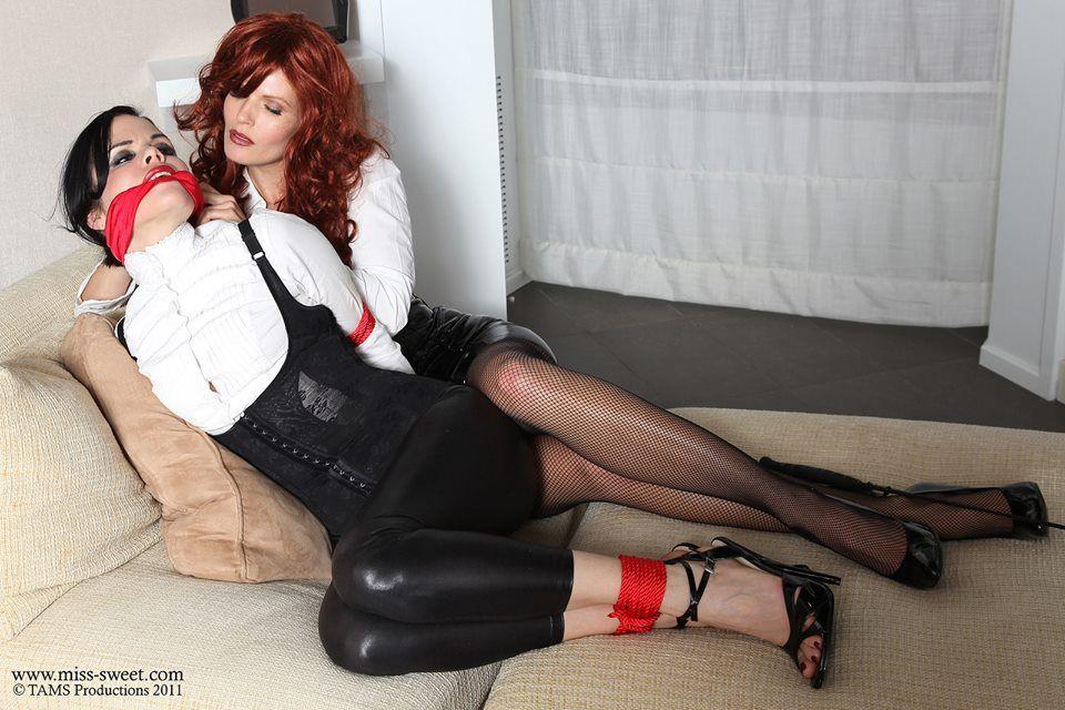 Lesbian bondage slaves bdsm