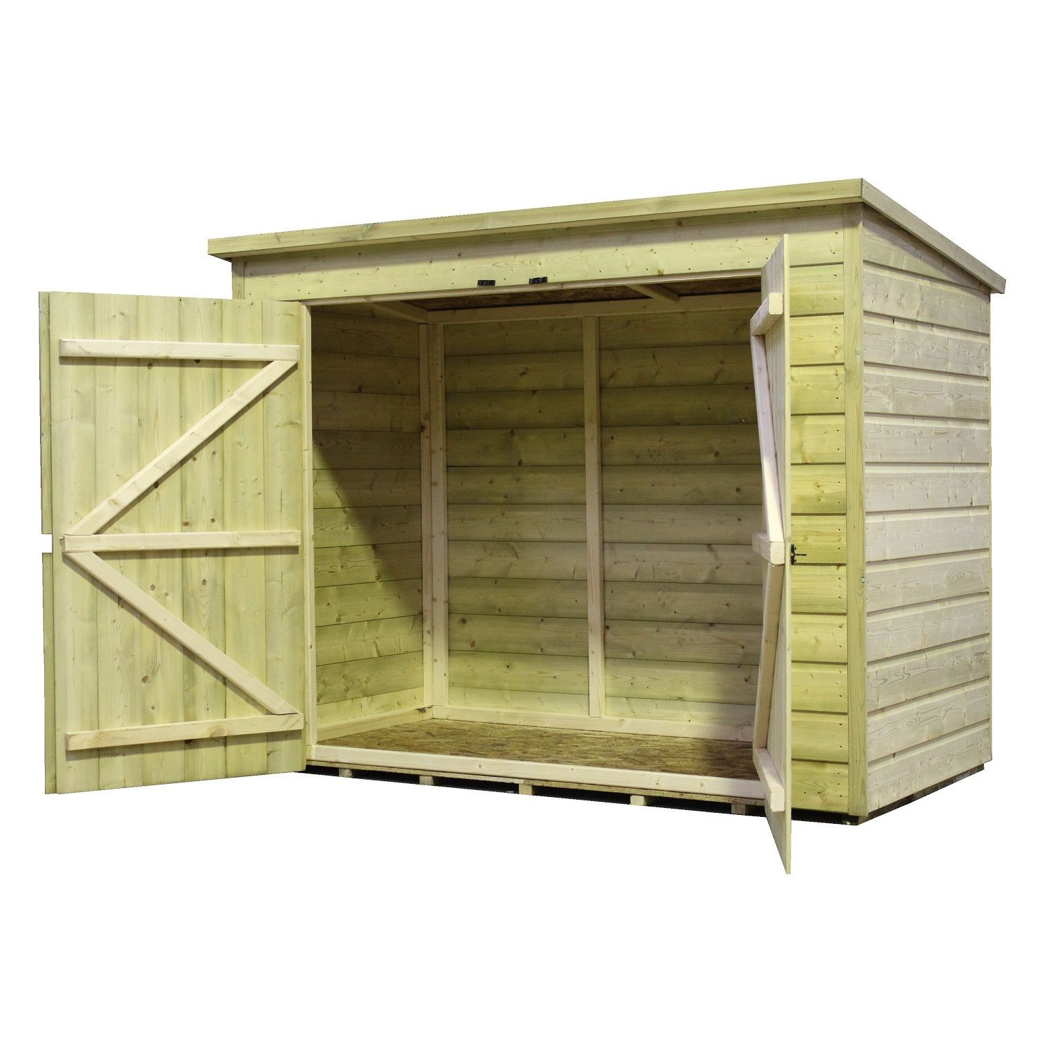 empire sheds ltd 7 x 4 wooden bike shed - Garden Sheds 7 X 3