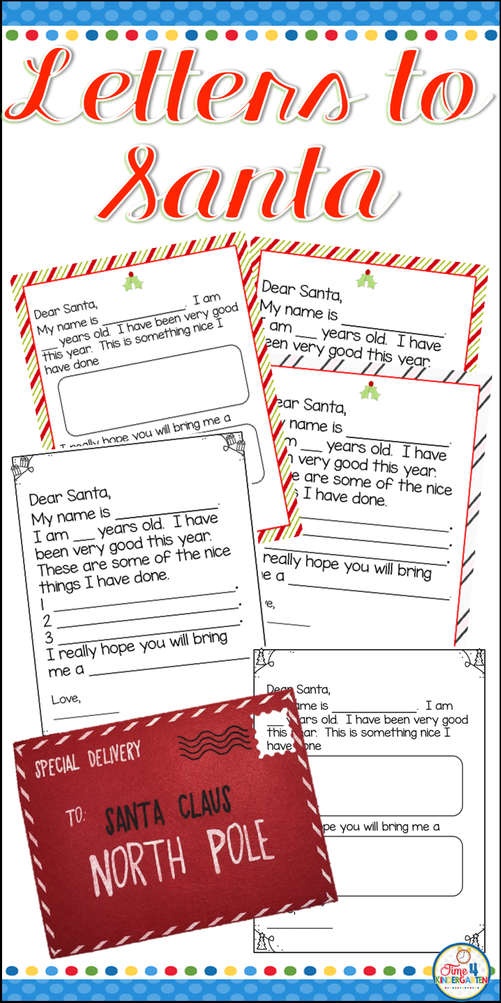 Letters to Santa Claus Santa letter, Holiday lettering