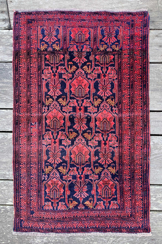 Vintage Persian Rug 2 9 X 4 6 In 2020 Vintage Persian Rug Persian Rug Rugs