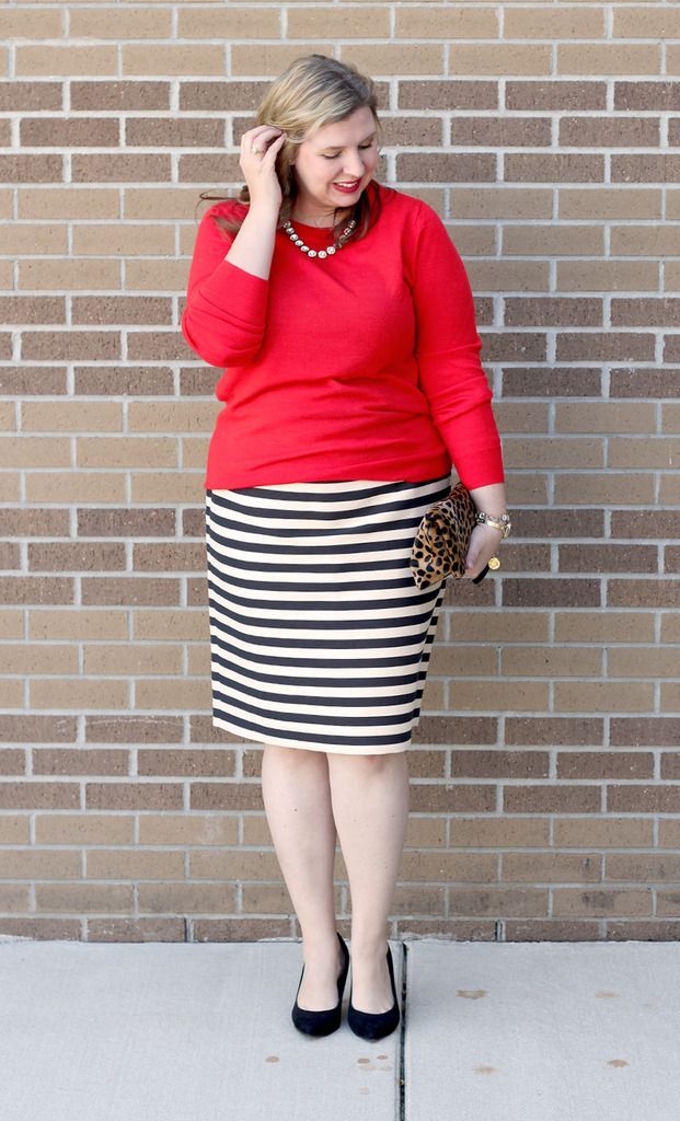 12 Outfits For Christmas Striped Skirt Outfit Striped Skirt