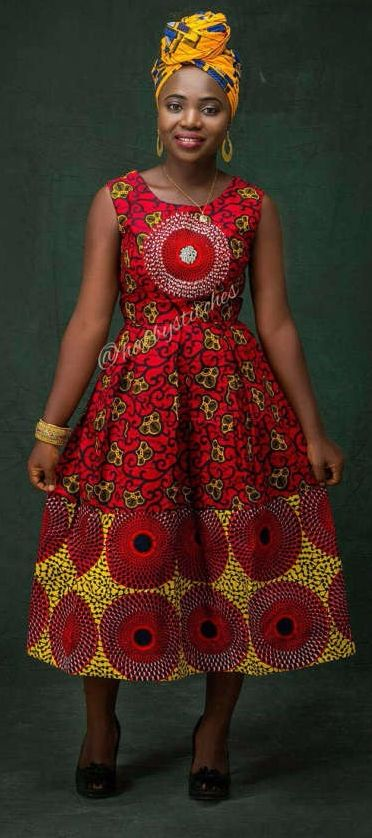9a8f5c88885 45 Fashionable African Dresses