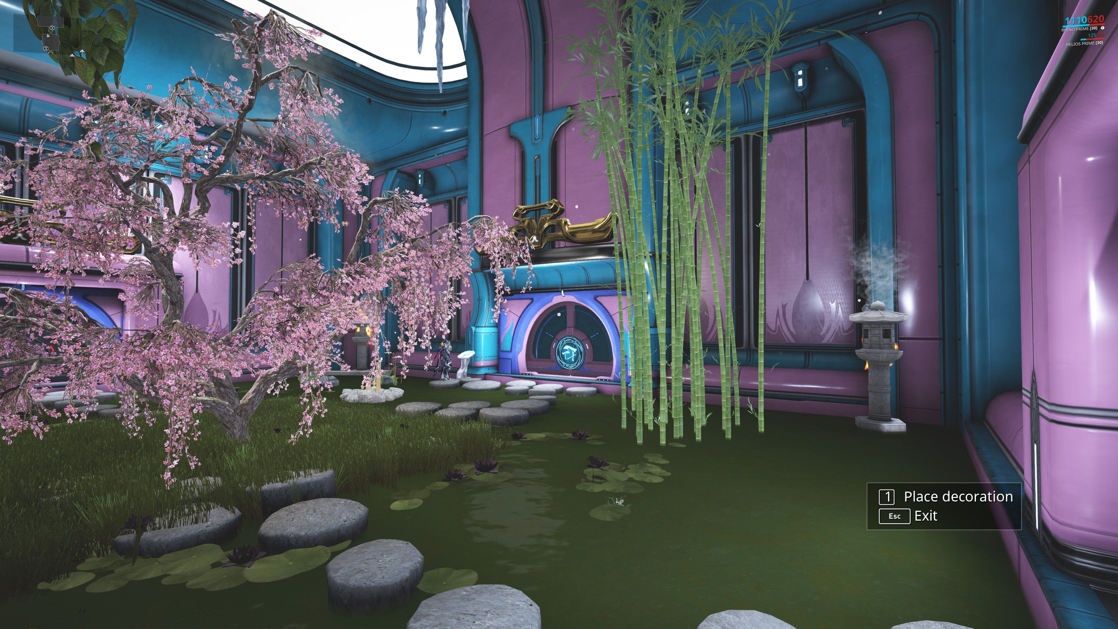 Warframe Dojo Decoration Ideas Lovely Dojo Remaster ...