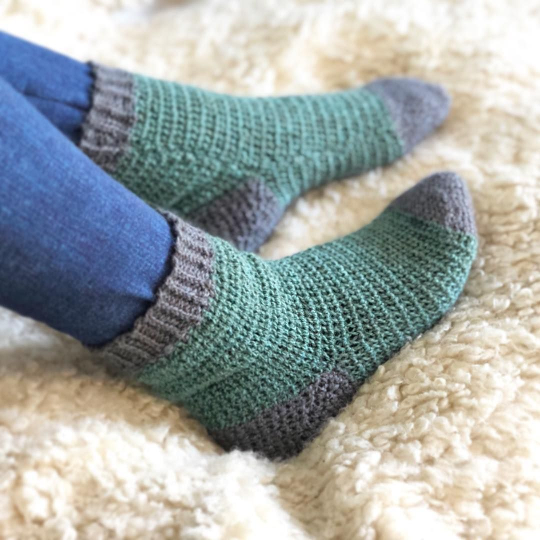 How to knit socks with two circular needles - Page 16 of ...