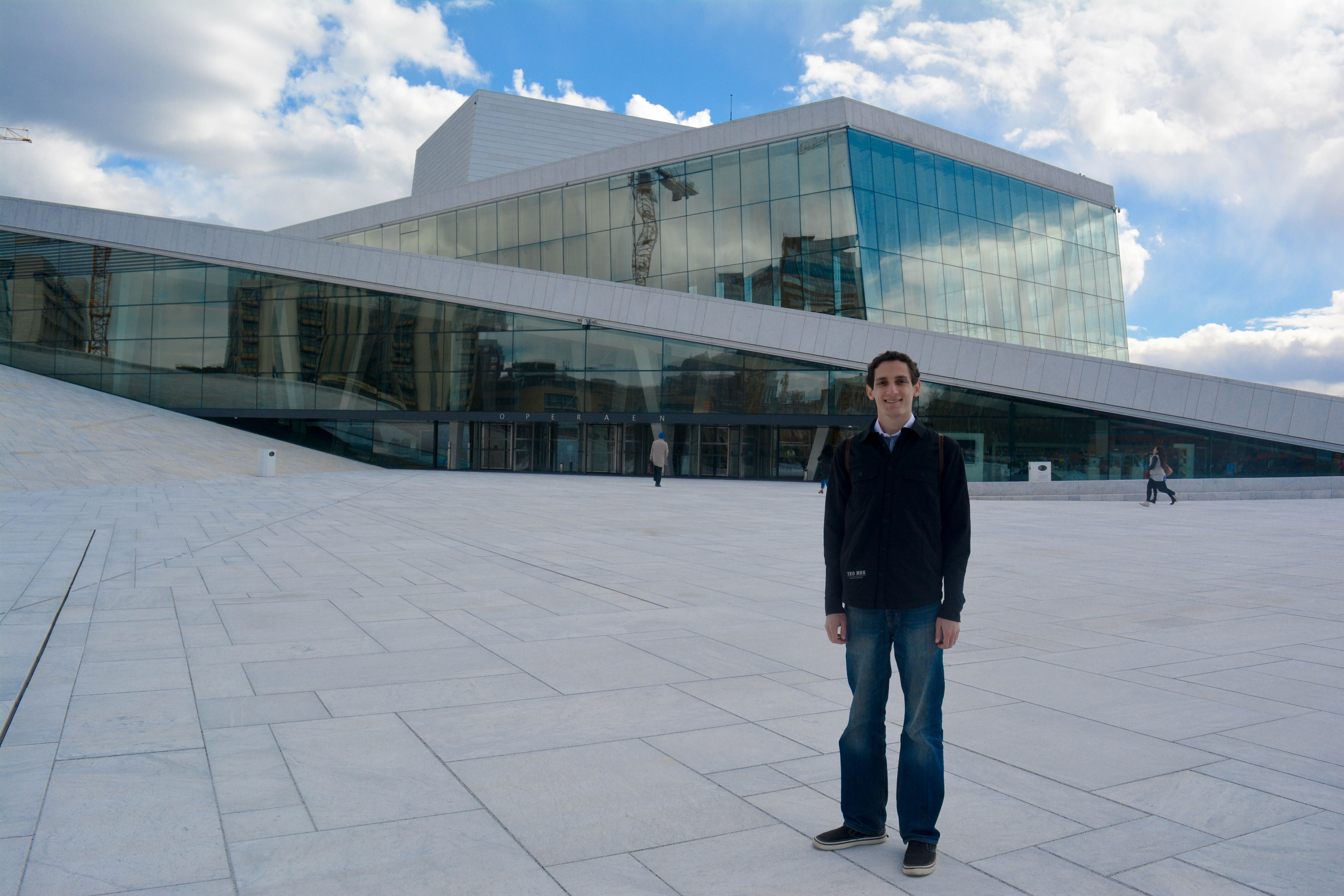 The Oslo Opera House Is The Home Of The Norwegian National Opera And  Ballet, And