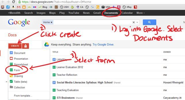 5 Ways to use Google Forms in the Classroom and links to templates
