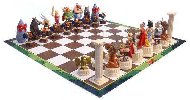 Asterix Chess Chess Set Kids Chess Set Chess Board
