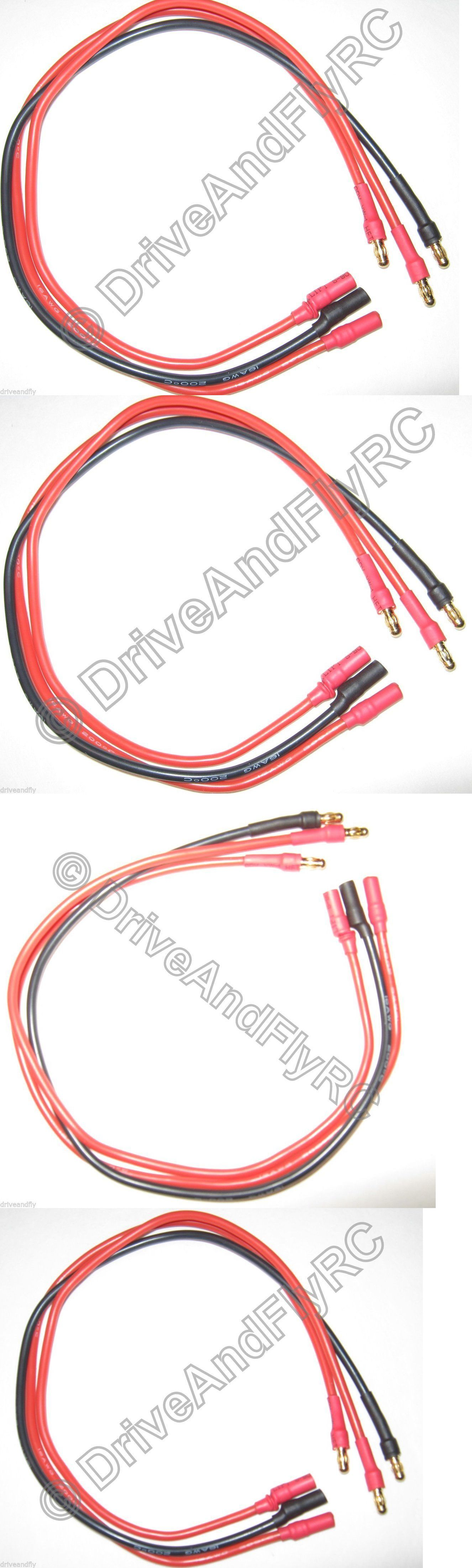 switches connectors and wires 182178 male to female motor esc extension 30cm 35mm bullet connectors 16awg wire 300mm \u003e buy it now only 1199 on ebay stpinterest