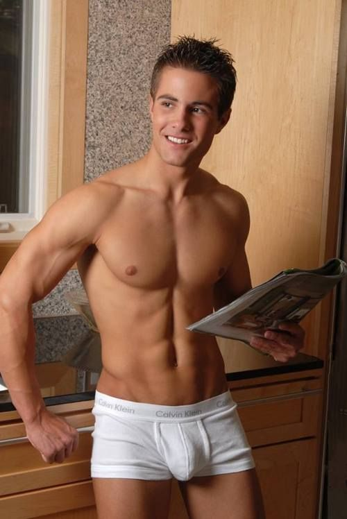 Cute guys in boxer briefs