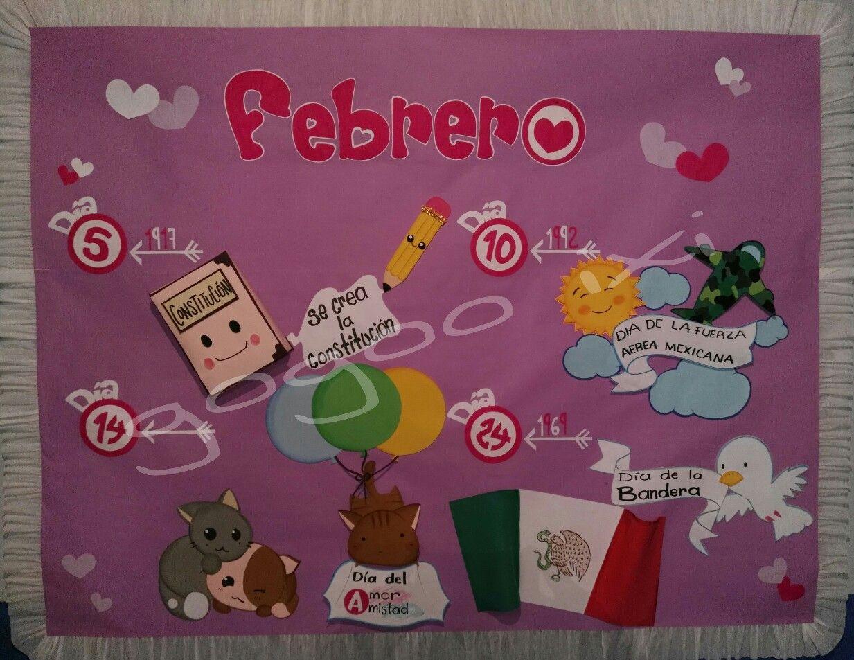 Periodico mural febrero Periodico