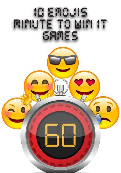 Free Emojis Themed Minute To Win It Games