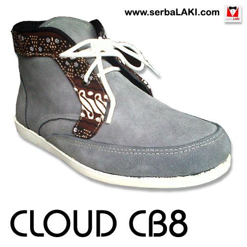 Cloud Suede Cb8 Sepatu Batik Kasual Pria Sepatu Batik Kasual