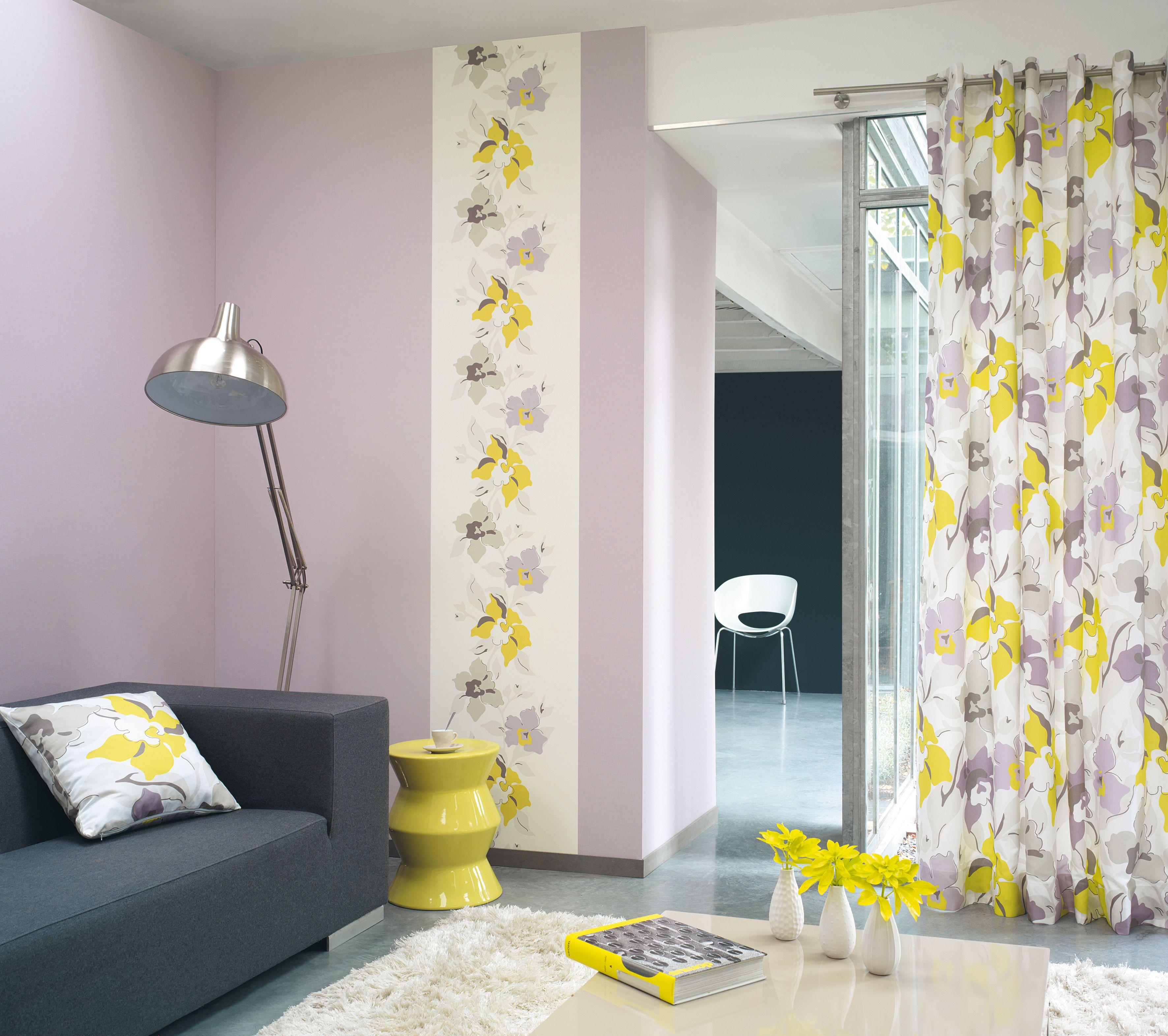 rideau gris et jaune fashion designs. Black Bedroom Furniture Sets. Home Design Ideas
