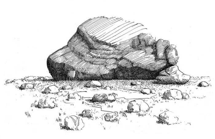 three main types of rock
