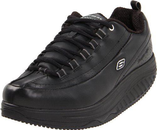 Großhandelspreis schöner Stil reich und großartig Skechers for Work Women's Shape Ups Slip Resistant Sneaker ...