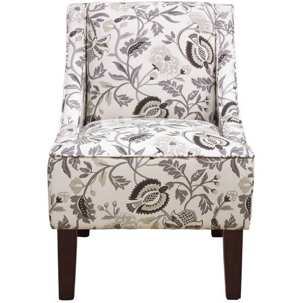 Hudson Swoop Arm Chair 180 Liked On Polyvore Featuring Home Furniture Chairs Accent Chairs Swoop Armchair Grey Chair Contemporary Accent Chair Chair