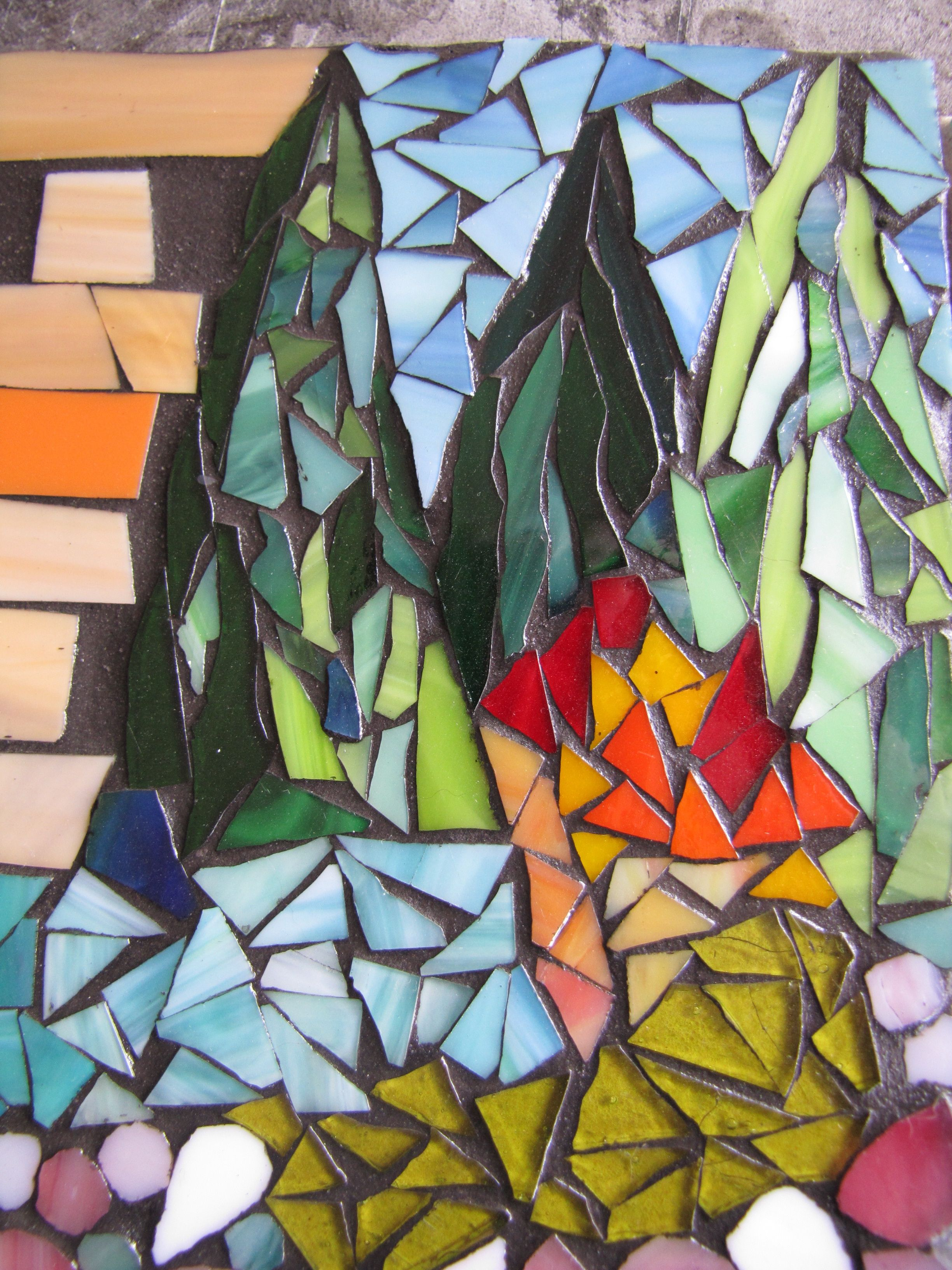 playing with mosaics by kat gottke