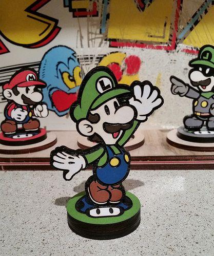 Custom Original Color Mario Amiibo