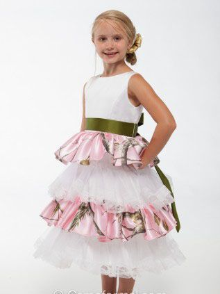 Click to buy free shipping pink camo flower girl dress 2017 click to buy free shipping pink camo flower girl dress 2017 pageant mightylinksfo