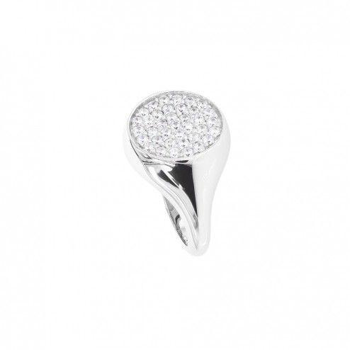 bellissimo aspetto bellissimo aspetto vendita economica Stupendo anello da mignolo in argento925 con cubic zirconia ...