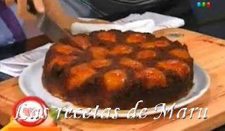 Las recetas de Maru Botana: Torta invertida de peras